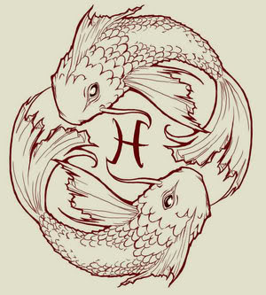 koi tattoo designs on Tattoos/Piercings: No piercings, but she does have a Pisces tattoo on ...