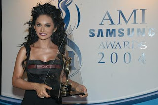 Krisdayanti in Ami Samsung Awards 2004