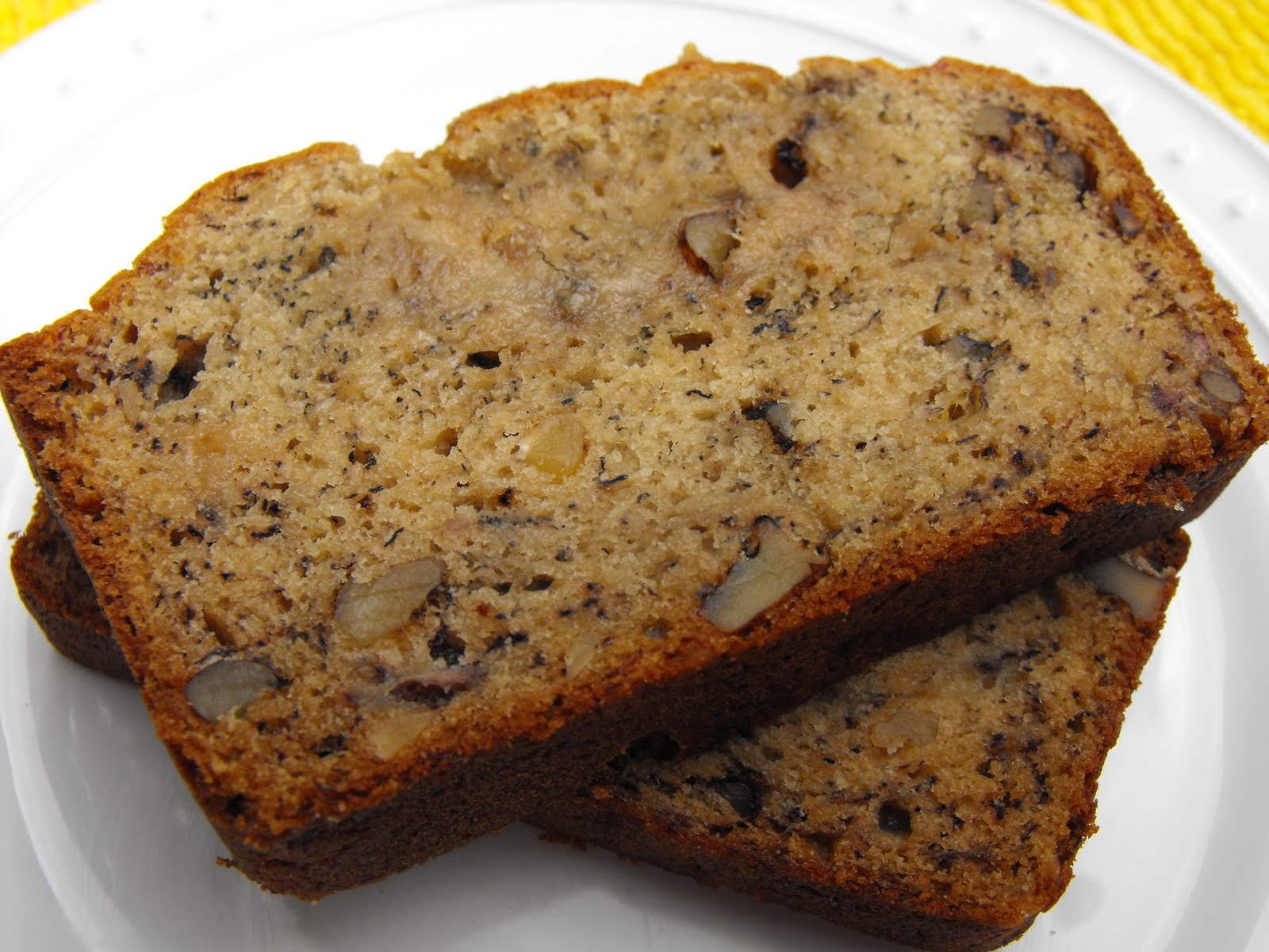 Once Upon a Cafe: Banana Nut Bread