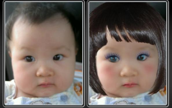 Kumpulan Foto Bayi Lucu Yang Di Make Up Dengan Photoshop [ www.BlogApaAja.com ]