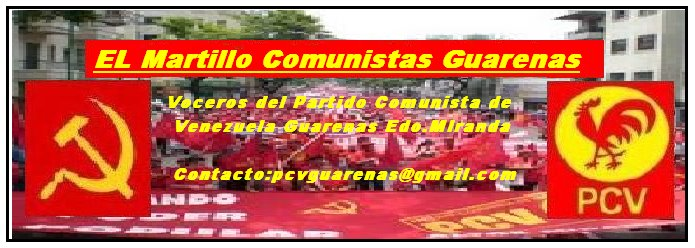 El Martillo  Comunistas Guarenas