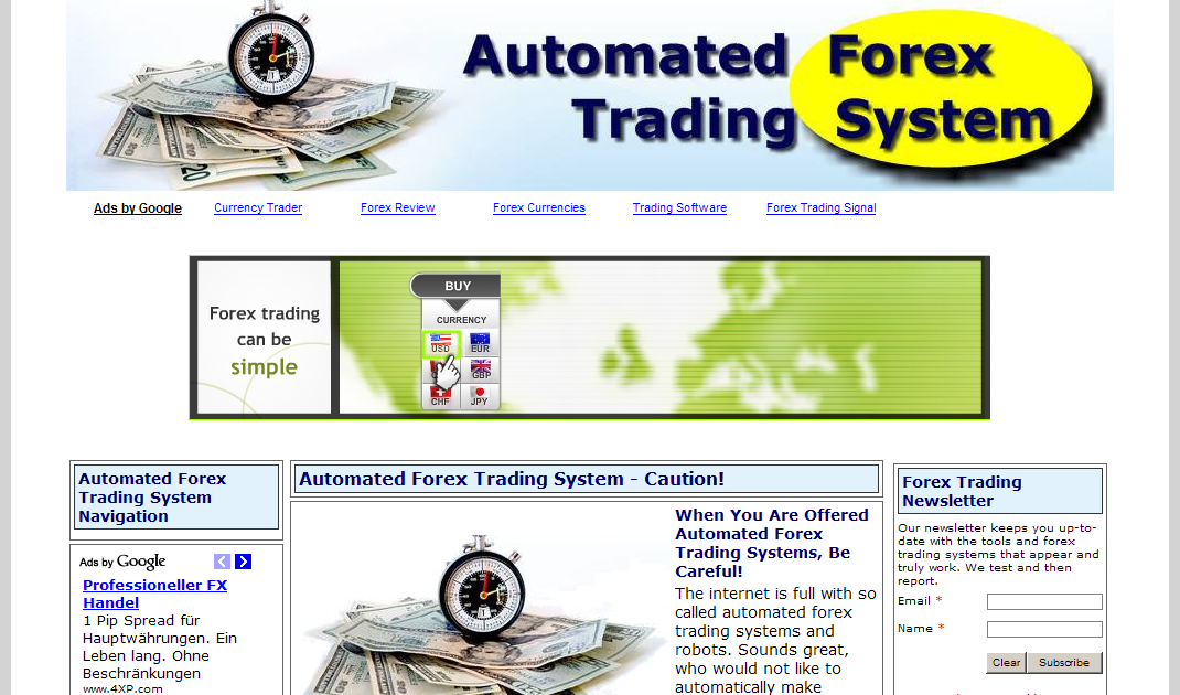 Online forex and commodity trading