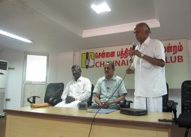 RSS Press Meet in Chennai