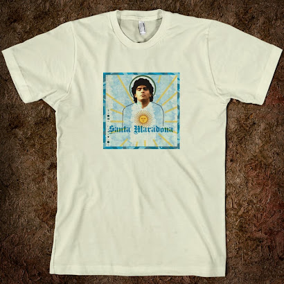 Santa Maradona Tee Shirt