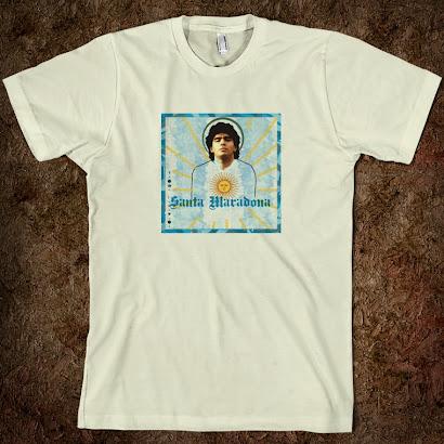 Santa Maradona Tee Shirt