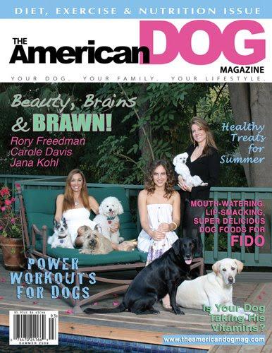 Riviera Rescue Sponsor, American Dog Magazine