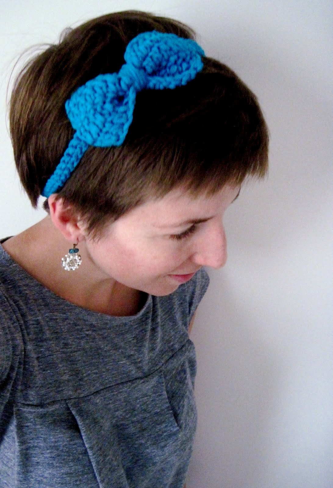 Crochet Tutorial Headband : For the Love of Crochet Along: crochet tutorial :: bow headband