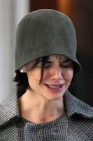 Katie Holmes cries