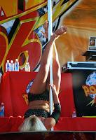 Brooke Hogan striptease