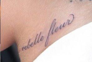 Rihanna tatuaj