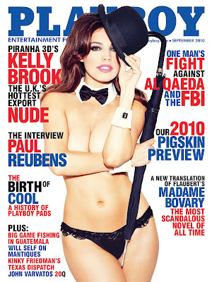 Kelly Brook in Playboy