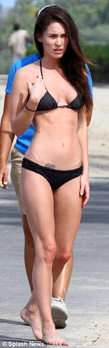 Megan Fox Hawaii bikini