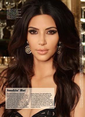 Kim Kardashian in Cosmopolitan