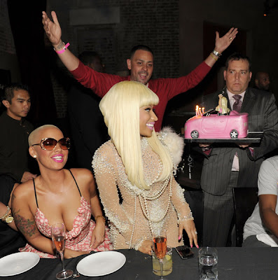 Nicki Minaj, Cassie, Amber Rose