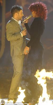 Rihanna @ X Factor Final