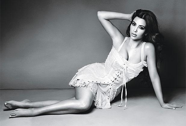 Kim Kardashian in Glamour
