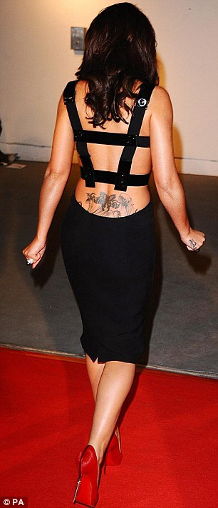 Cheryl Tweedy Cole's New Tattoo