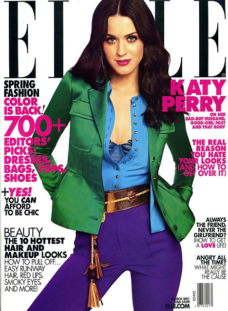 Katy Perry - Colorful Cutie for Elle