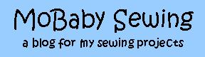 MoBaby Sewing