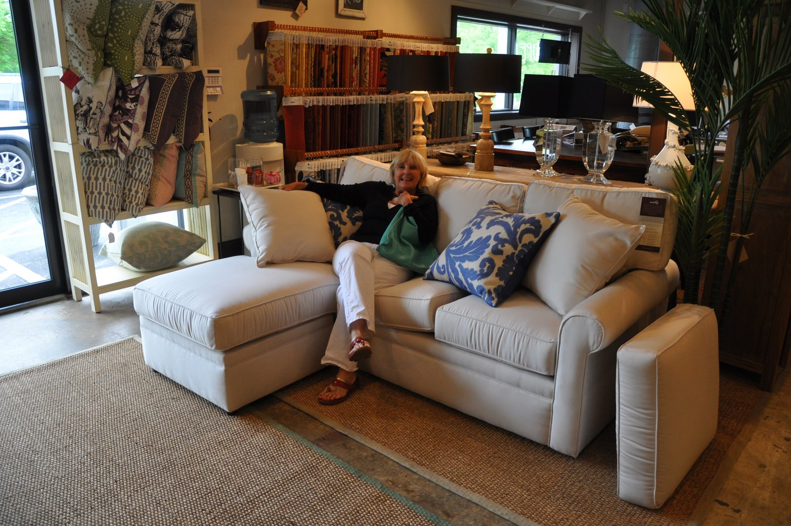 Jane Coslick Cottages Small But Comfortable Sofa