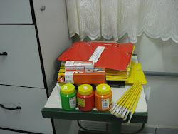 Alguns dos materiais escolares de consumo PDDE 2010