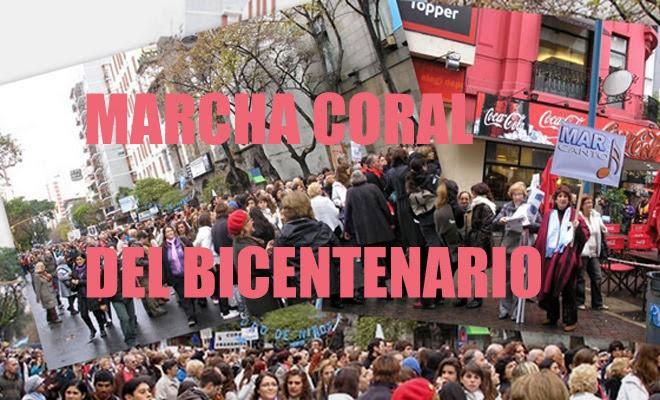 Marcha Coral del Bicentenario en Mar del Plata