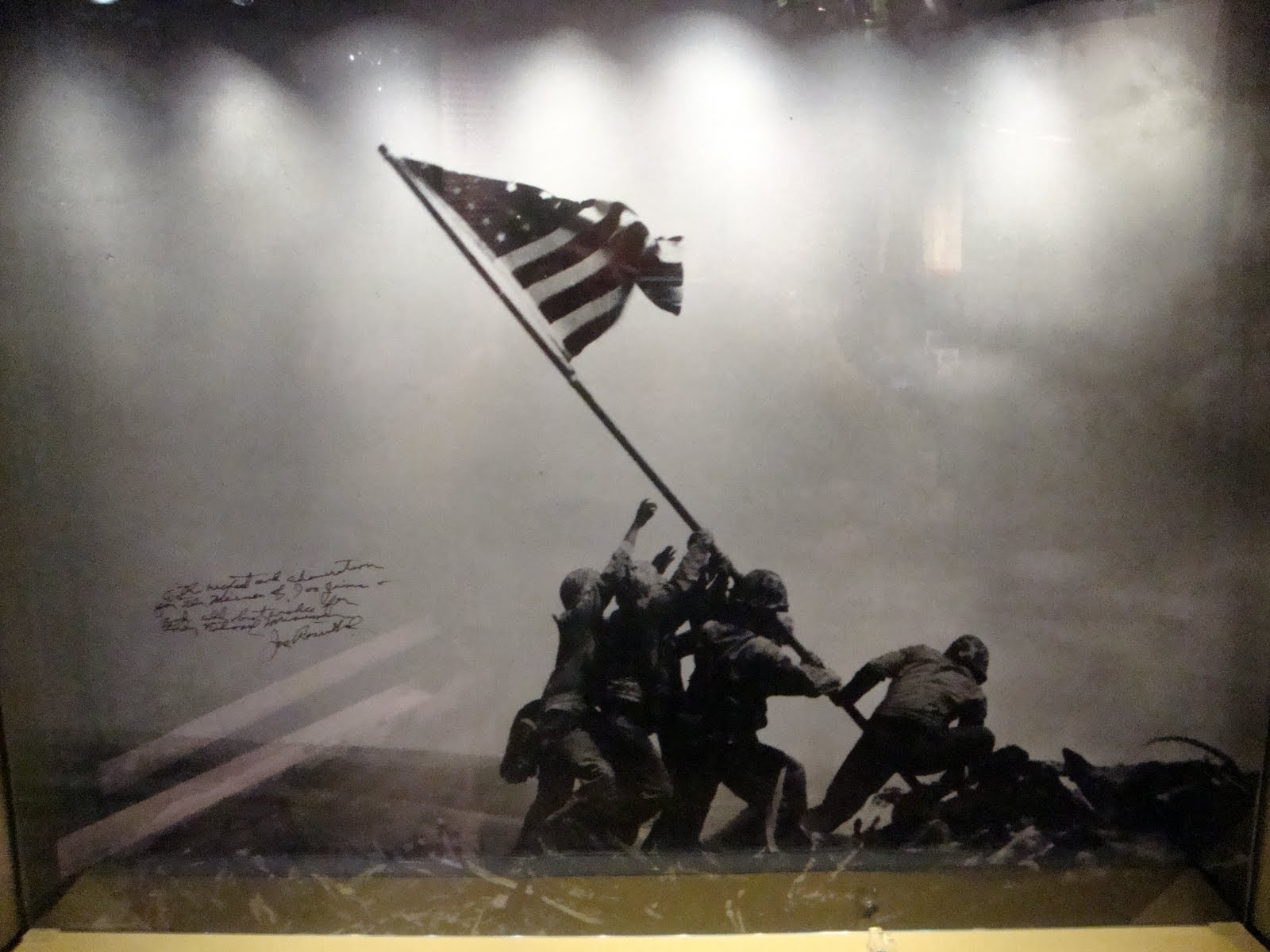 ... iwo jima flag raising wallpaper ... R Sanity RV Adventures The Continuing Story of Iron Mike ...