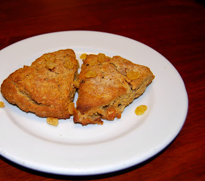 Banana-Oat Scones are gluten-free and vegan