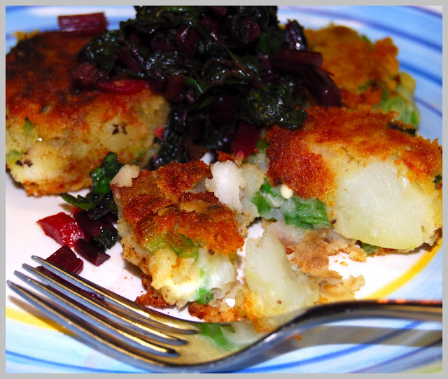 Potato Lima Bean Cakes