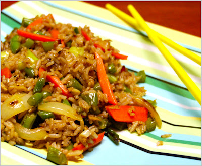 Vegetable fried rice holy cow indo chinese vegan recipes chinese fried rice forumfinder Choice Image