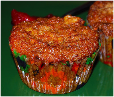 Carrot Halwa Muffins