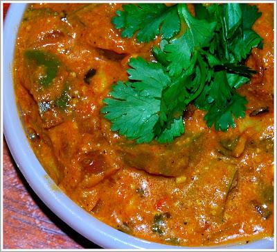 Vegan Mushroom Makhani
