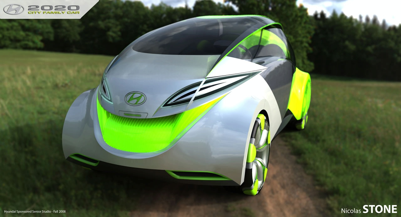 2020 hyundai city car concept 9 2020 Hyundai City Car Concept