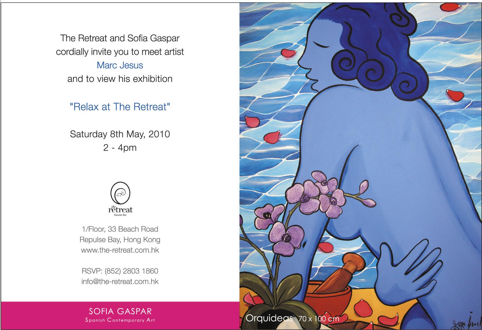 SOFIA GASPAR Spanish Contemporary Art Marc Jesus Exhibition May
