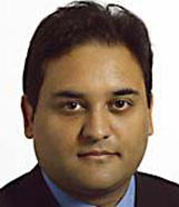 Photo of Claude Moraes, Labour MEP for London on Vassall View website