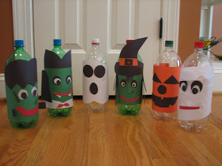 Halloween bowling pins