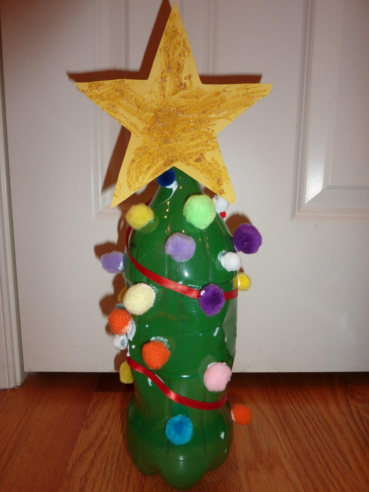 Новогодняя игрушка на елку своими руками из бросового материала