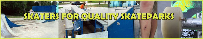 Skaters for Quality Skateparks -  Information on American Ramp Company