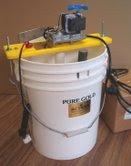 Bak Elektrolisa Skala Lab dari AMS USA, bisa untuk aplikasi leaching sianida/non sianida