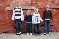 Carter, Carson, Ammon, Nathan
