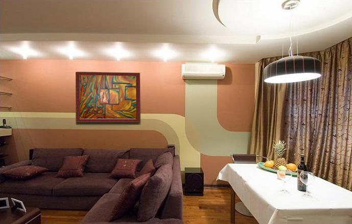 Viva el arte pinturas para salas de estar for Departamentos decoracion moderna