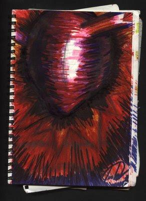 dibujo Tumor de corazón