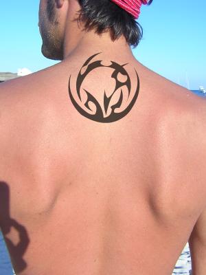 Diseño Tattoo espalda tatuaje tribal