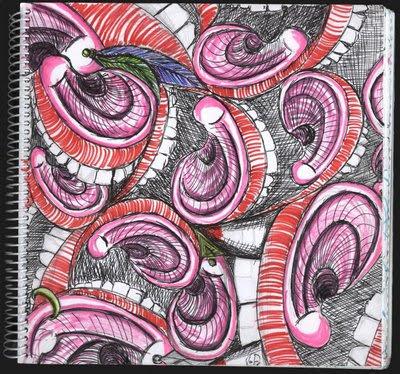 dibujo orejas y bocas: Incomunicación