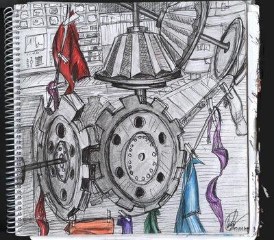 dibujo máquina lavadora secadora de ropa cancamusa
