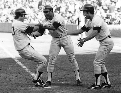 Buckey Dent Home Run 1978 Playoff Yankees vs. Red Sox by Michael Maher