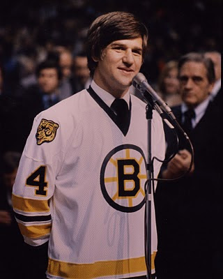 Bobby Orr, Orr number retired, Boston Bruins retire number 4, 1979 Orr retirement ceremony