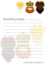 Puedes imprimir esta imagen como carta a los Reyes Magos