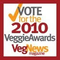 I was Nominated for a Veggie Award!