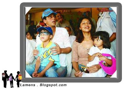 Sharukh Khan Family